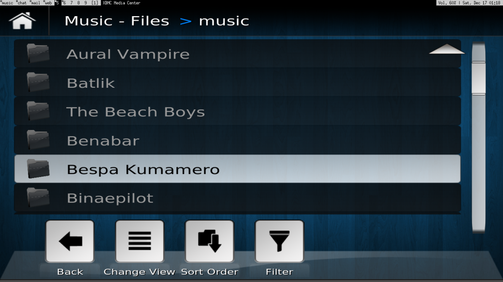 ArchLinux Touchscreen-CarPC mit XBMC-Frontend – project