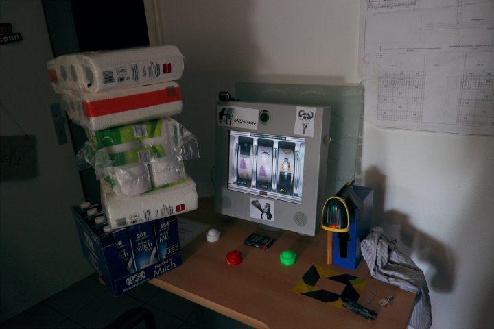 Open source powered GNU Casino slot machine – project