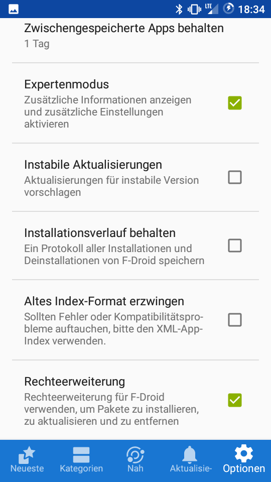 Auto-update Android apps with F-Droid & Yalp Store – project